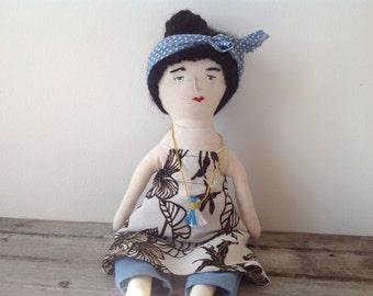 Rag doll / Ooak doll / Hand made doll / Art doll / Primitive rag doll / Soft doll