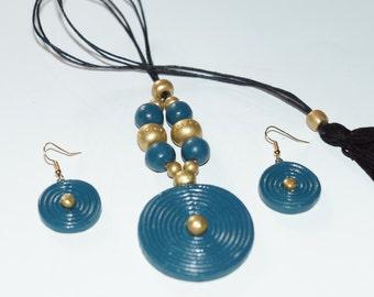 SIMPLE DAILY WEAR Beautiful Handmade Terracotta Jewelry