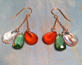 Fall Trio Earrings