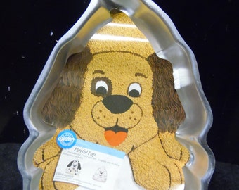 Playful Pup cake pan by Wilton