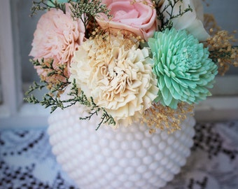 Sola Flower Centerpiece, Wedding centerpiece