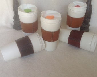 Horween Chromexcel, Essex, American Tanned Leather - Handstitched Drink Sleeves