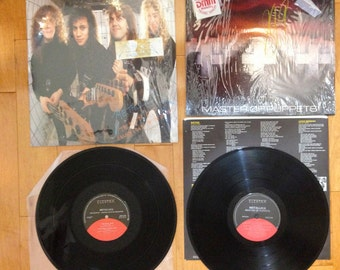 Master of Puppets Vinyl LP 1st Pressing Elektra 1986!. Garage Days Orignal pressing, MINT! Canadian Issues