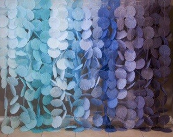 Ombre Garland Display- Blue