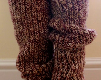 1980s Red Leg Warmers