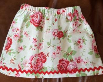 Skirt in Cath Kidston Fabric 18m