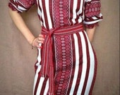 ukrainian embroidered dress vyshyvanka national gown ethnic folk sorochka