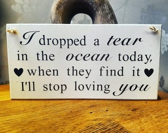 Love Quote Sign, Plaque, Gift For The Home, Shabby Chic Hanging Sign, Gift For a Love, Wall Decor, Meaningful Words