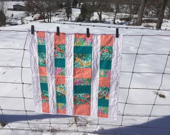 SALE!! Baby Quilt Addy