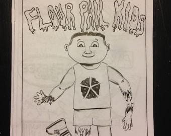 Zine skateboard Flour Pail Kids Rochester NY issue 2