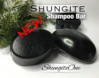 Shungite SHAMPOO Bar. An everyday full conditioning and nourishing alternative to conventional shampoo.