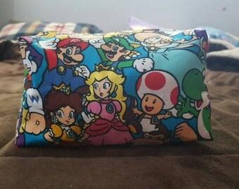 Large Super Mario (Nintendo) Cosmetic Bag