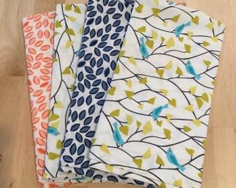 Set of 4 organic napkins