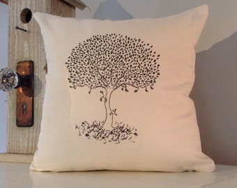 The Giving Tree, 14x14 Decorative Novelty Pillow Cover, Throw Pillow Sham, Slipcover for Pillow, Cushion Cover, Accent Pillow.