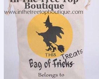 This Bag of Tricks (treats) Belongs to.. Bag