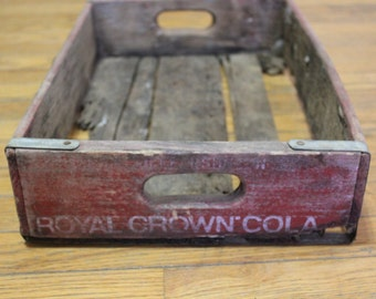 Royal Crown Cola Crate