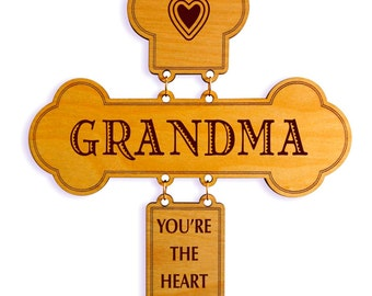 Gift to Grandma, Gift for Granny, Grandma Gift, Grandmother Birthday Gift, Custom Grandma Wall Cross, Meme gift, Nanny gift, Nanny gift