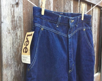 Lee Jeans - Size 16 - Deadstock - New with Tags - Womens Vintage Lee Jeans - Vintage Denim