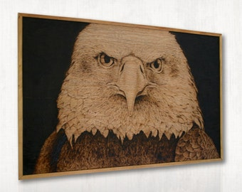 Eagle Wood Burning
