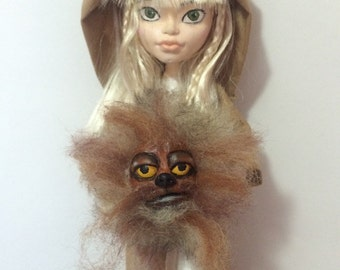 Kira & Fizzgig - the Dark Crystal