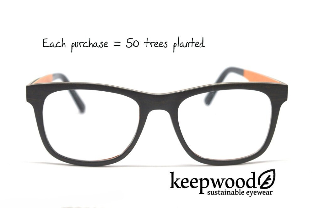 wood eyeglasses real wood optical frames prescription glasses