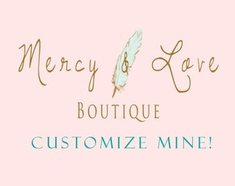 Customize Mine Add On... Add a Personalized Touch and add any name to one of Mercy and Love's Birthday Collections!
