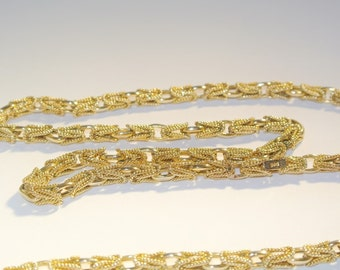 """9ct Yellow Gold 32"""" Endless Byzantine Necklace"""