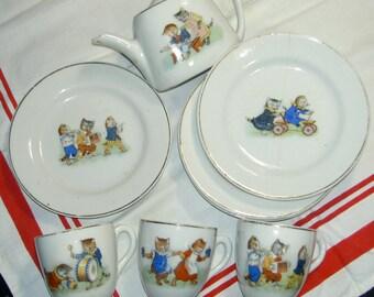 doll china tea set