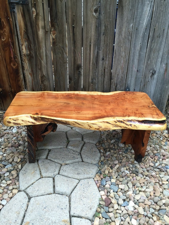 Mesquite Coffee Tablewood Furniturelive Edge