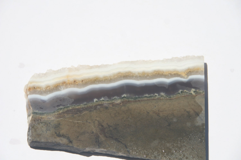 Slabbing Agate: Lace Agate Slab