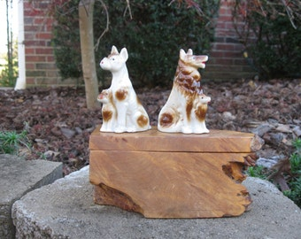 Collection of 2 Dog Figurines