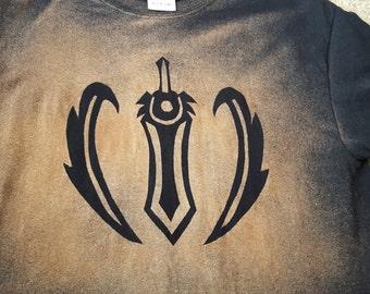 League of Legends Garen Villainy Bleached Shirt