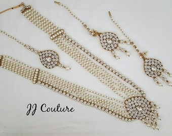"""Shop """"indian jewelry"""" in Jewelry Sets"""