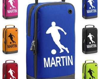 Personalised Footballer Themed Boot Bag with Carry Handle  * Free Delivery *