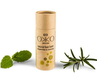 Natural Foot Balm Stick - Peppermint & Rosemary