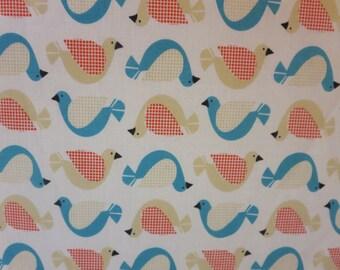 Certified Organic Cotton- Birds  -Baby/ Toddler Crib Sheet-Fitted Crib Sheet-Sheets- Bedding-Nursery-