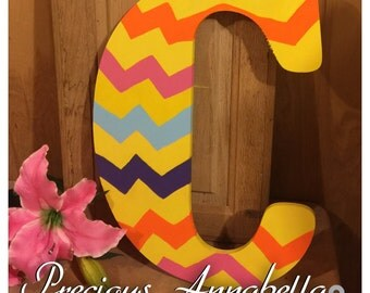 Hand Painted Initial
