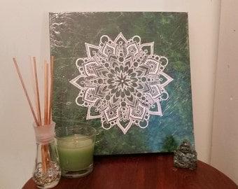 Large Green Mandala