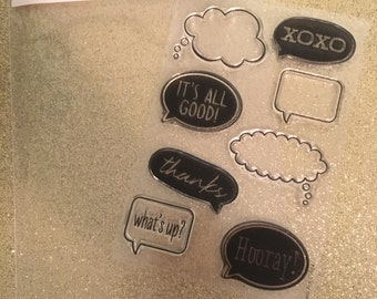 Hero Arts It's All Good stamp set clear cling stamps