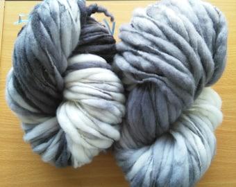 100% New Zealand Merino wool yarn Hand spun yarn Hand dyed yarn
