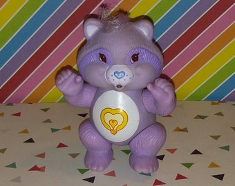 Vintage 1980s Care Bear Cousin Bright Heart PVC Figure