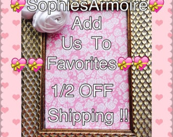 Half Price Shipping !! Add Us To Favorites*Shipping Deal *