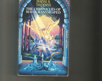 signed paerback Sheris Tepper, The Chronicles of Marvin Manyshaped