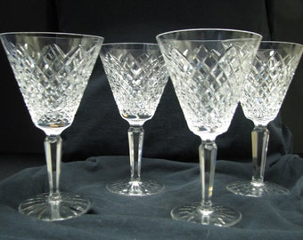 "Waterford Templemore 6 1/2"" wine goblet several available"