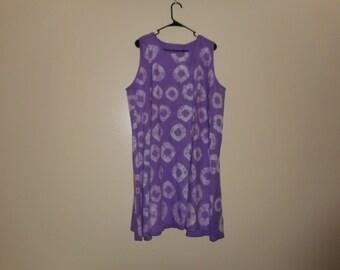 Flayed Tie & Dye  Top / dress.