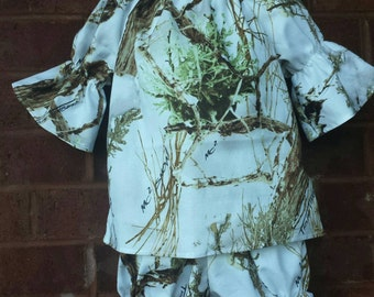 Girls Camo outfit, True Timber, girls clothing, boutique clothing, camouflage clothing