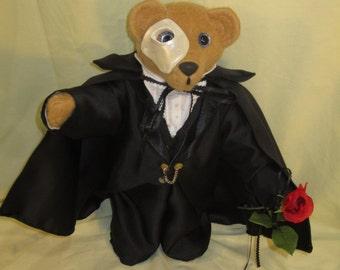Phantom of the Opera Teddy Bear - Musical Teddy Bear