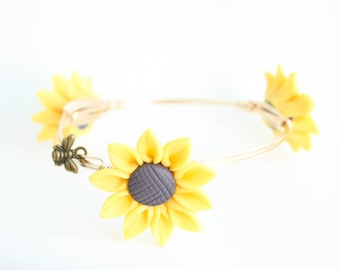 Sunflower Bangle
