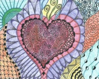 Wild At Heart Notecard