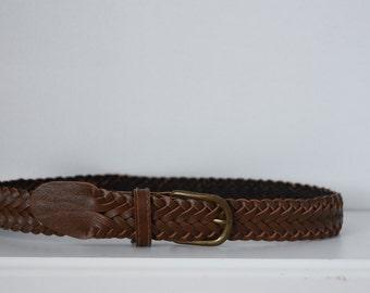 Vintage Toddler Braided Belt
